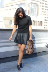 Great mix of textures keeps it interesting for a dressed down look