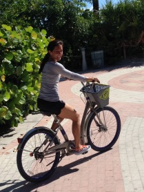 The rented bikes are great fun!